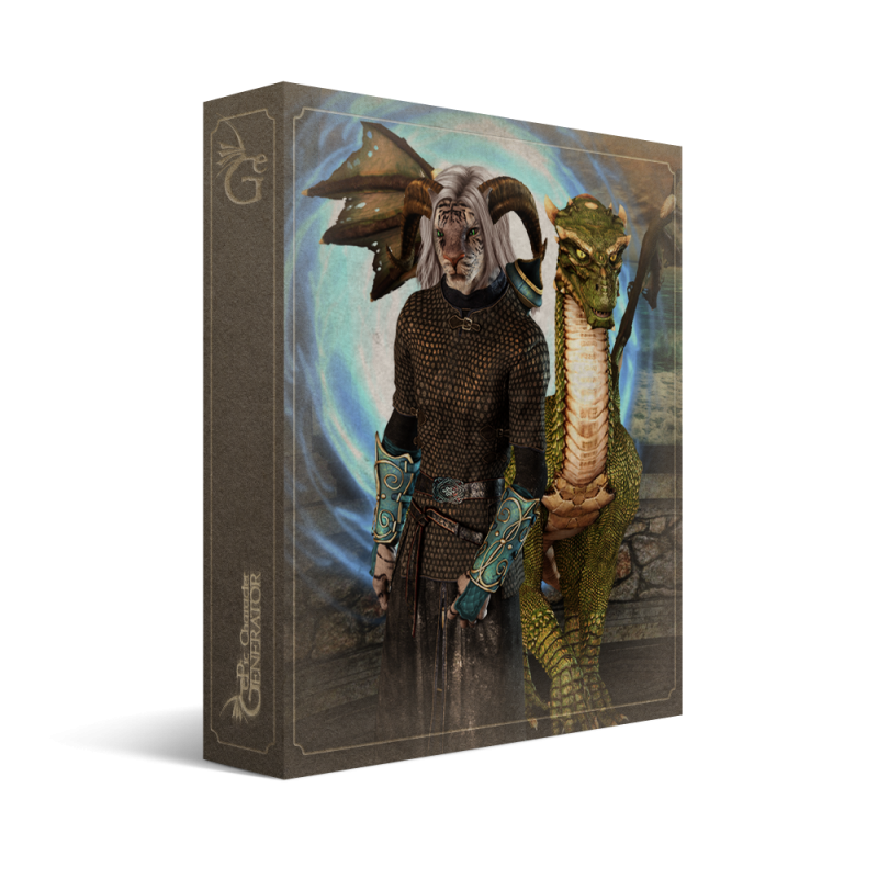 ePic Character Generator Season 1 Anthro Male Box