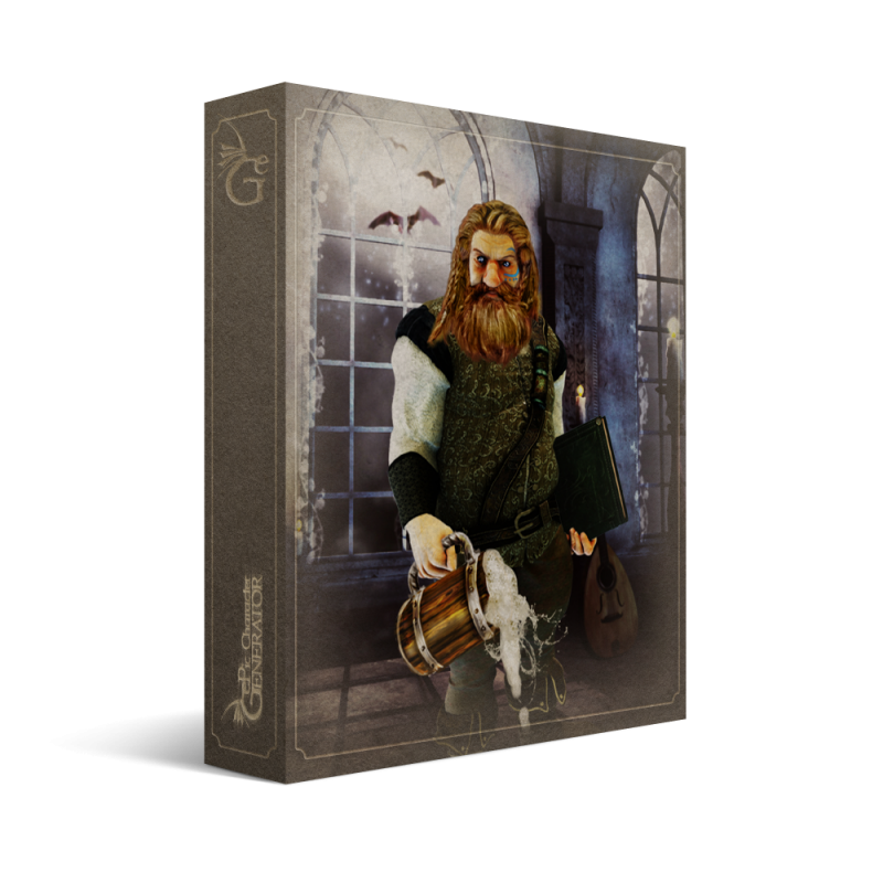 ePic Character Generator Season 1 Dwarf Male Box