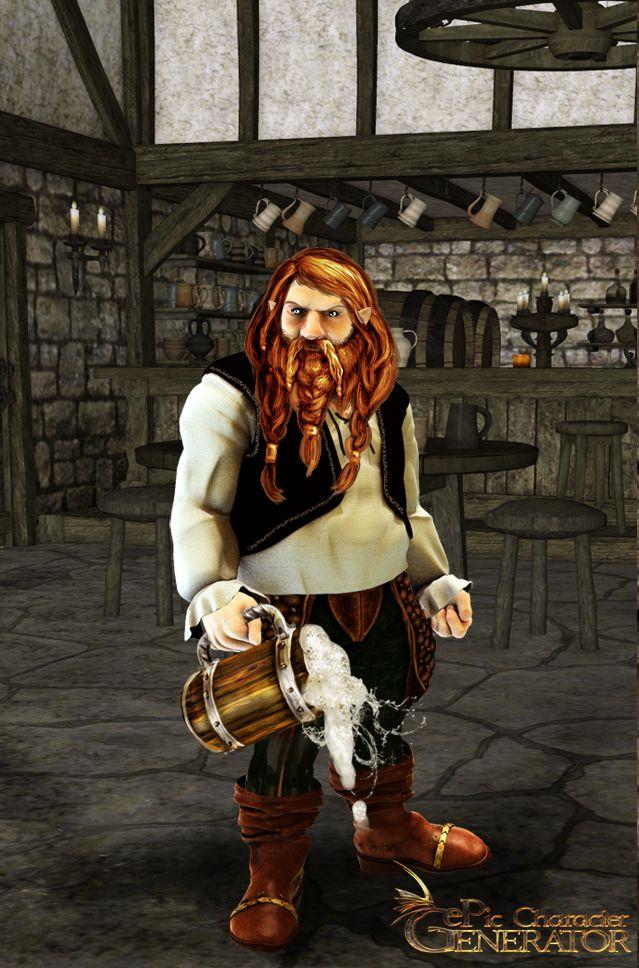 ePic Character Generator Season 1 Dwarf Male Screenshot 1