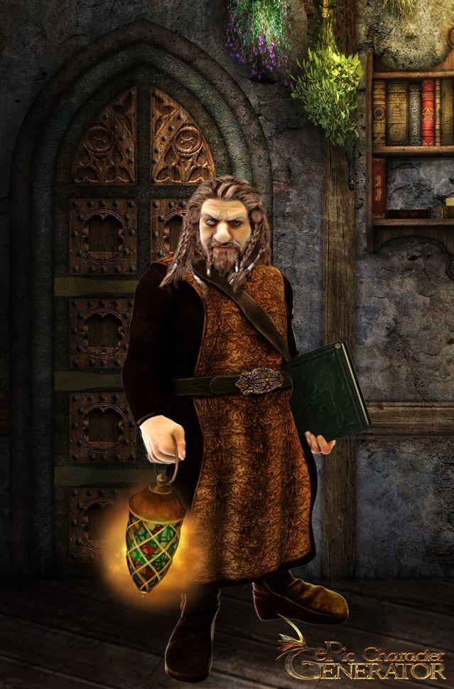 ePic Character Generator Season 1 Dwarf Male Screenshot 5