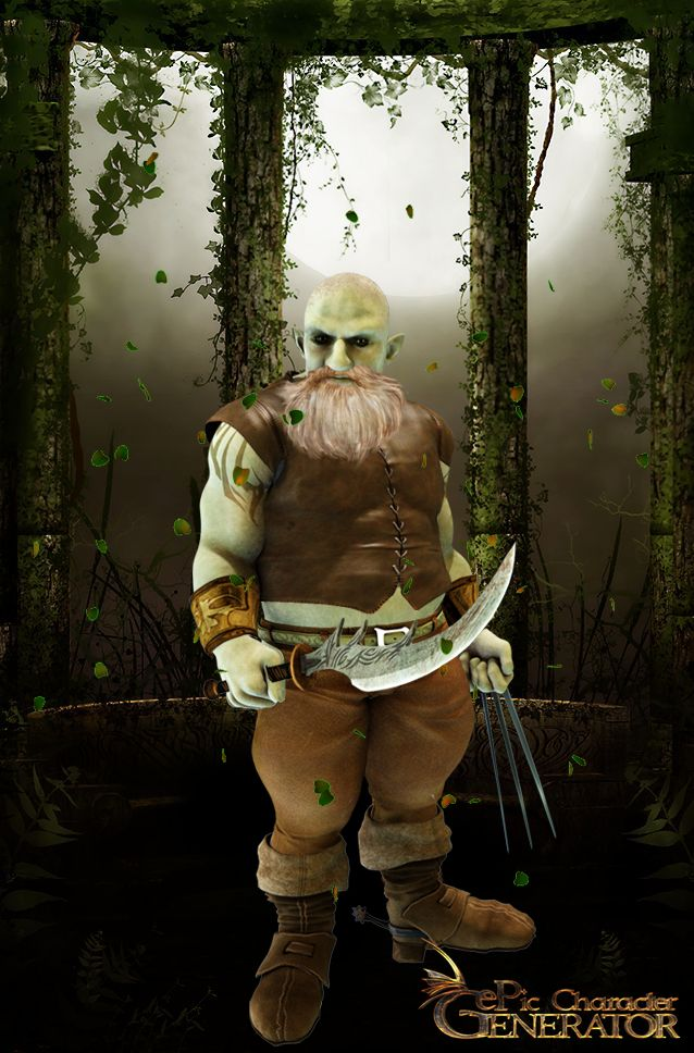 ePic Character Generator Season 1 Dwarf Male Screenshot 7