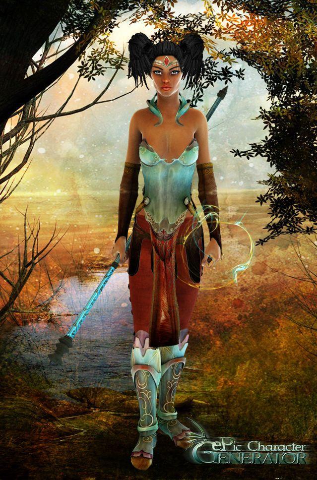 ePic Character Generator Season 1 Elf Female Screenshot 1