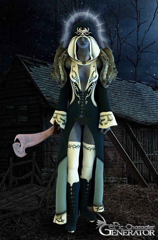 ePic Character Generator Season 1 Elf Female Screenshot 3