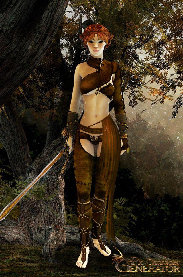 ePic Character Generator Season 1 Elf Female Screenshot 4
