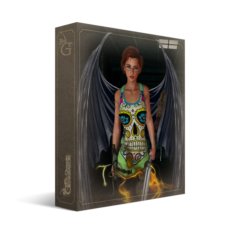 ePic Character Generator Season 1 Modern Female Box