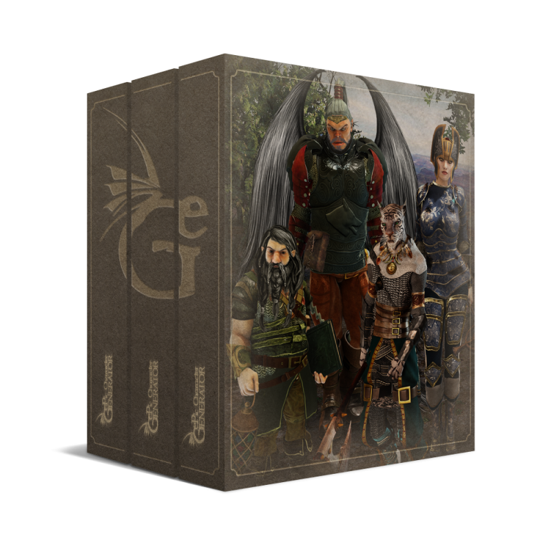 ePic Character Generator Season 1 Pro Bundle Box