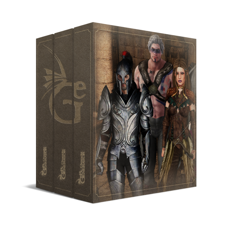 ePic Character Generator Season 2 Fantasy Starter Bundle Box
