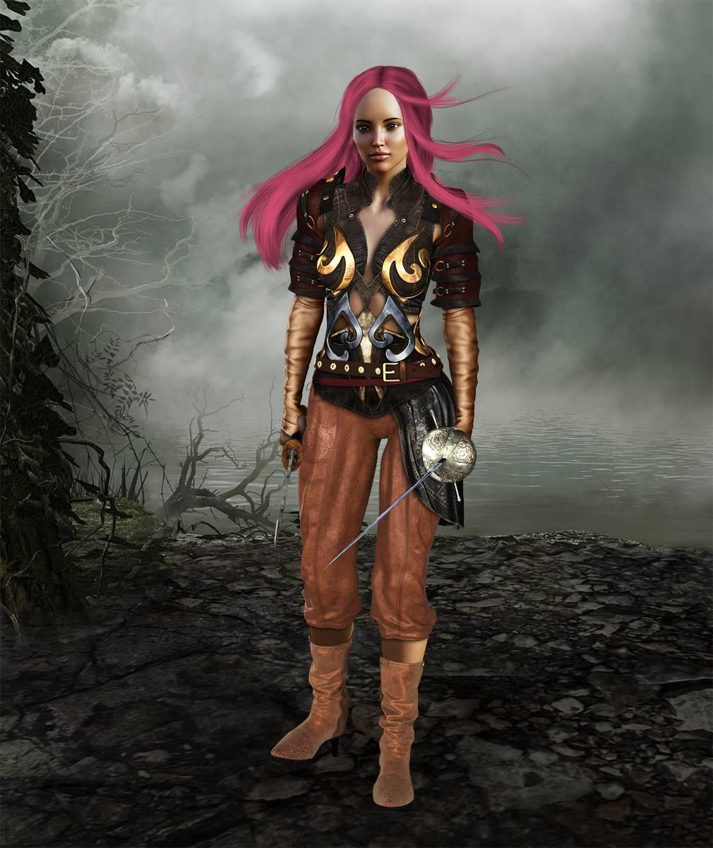 ePic Character Generator Season 2 Female Adventurer 1 Screenshot 03