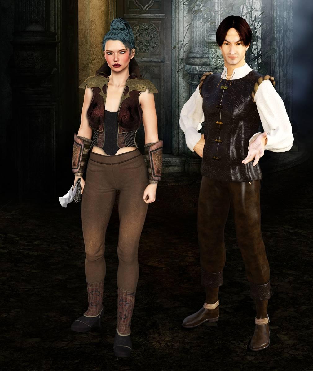 ePic Character Generator Season 2 Female Adventurer 1 Screenshot 04