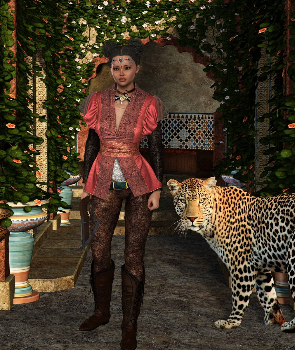 ePic Character Generator Season 2 Female Adventurer 1 Screenshot 06