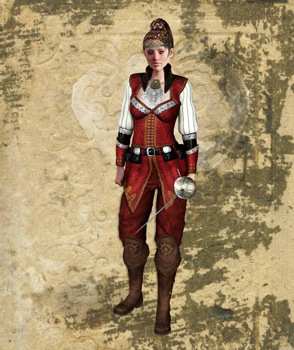 ePic Character Generator Season 2 Female Adventurer 1 Screenshot 09