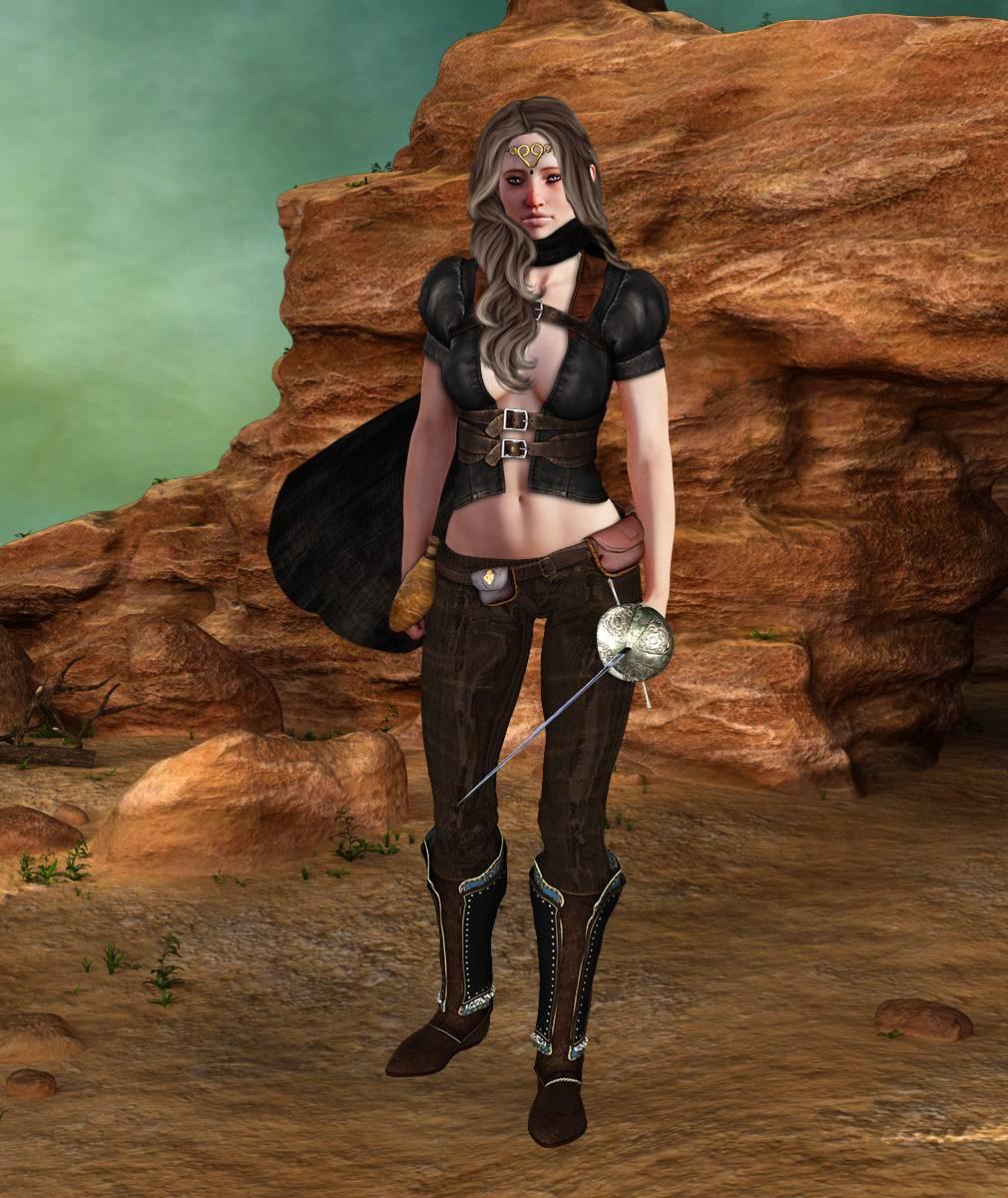 ePic Character Generator Season 2 Female Adventurer 1 Screenshot 10
