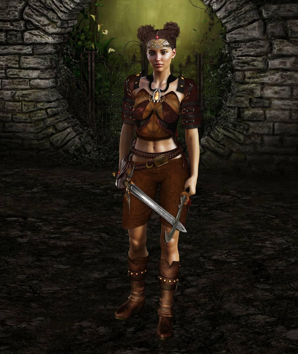 ePic Character Generator Season 2 Female Adventurer 1 Screenshot 13