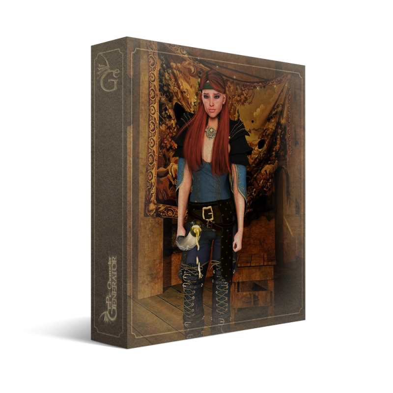 ePic Character Generator Season 2 Female Adventurer 2 Box