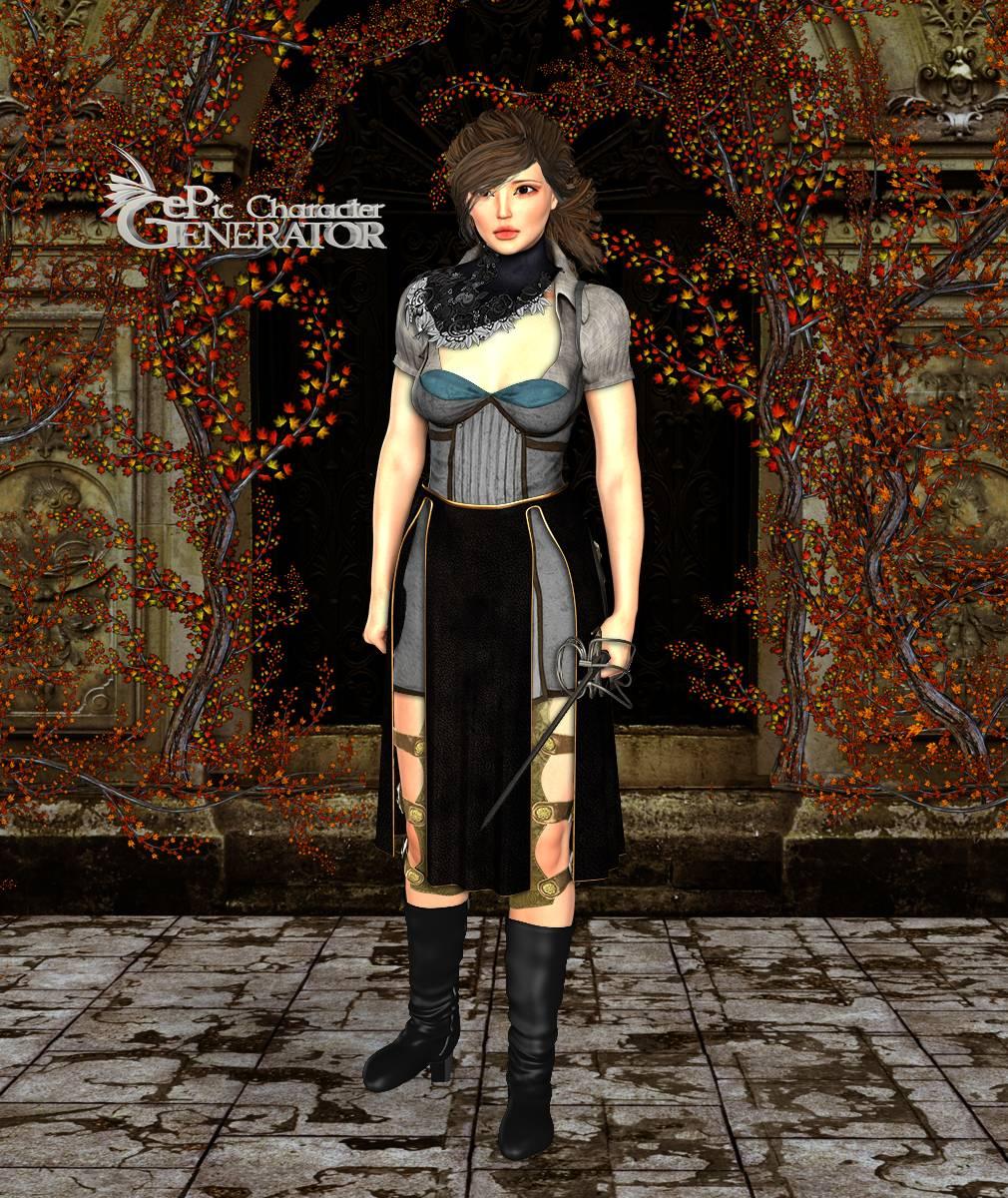ePic Character Generator Season 2 Female Adventurer 2 Screenshot 01
