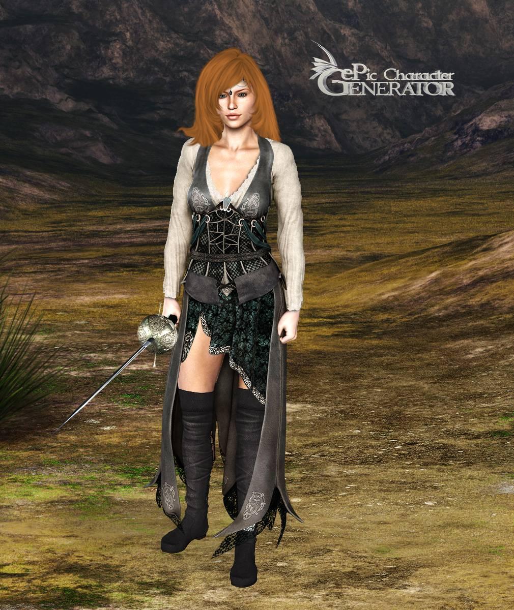 ePic Character Generator Season 2 Female Adventurer 2 Screenshot 02