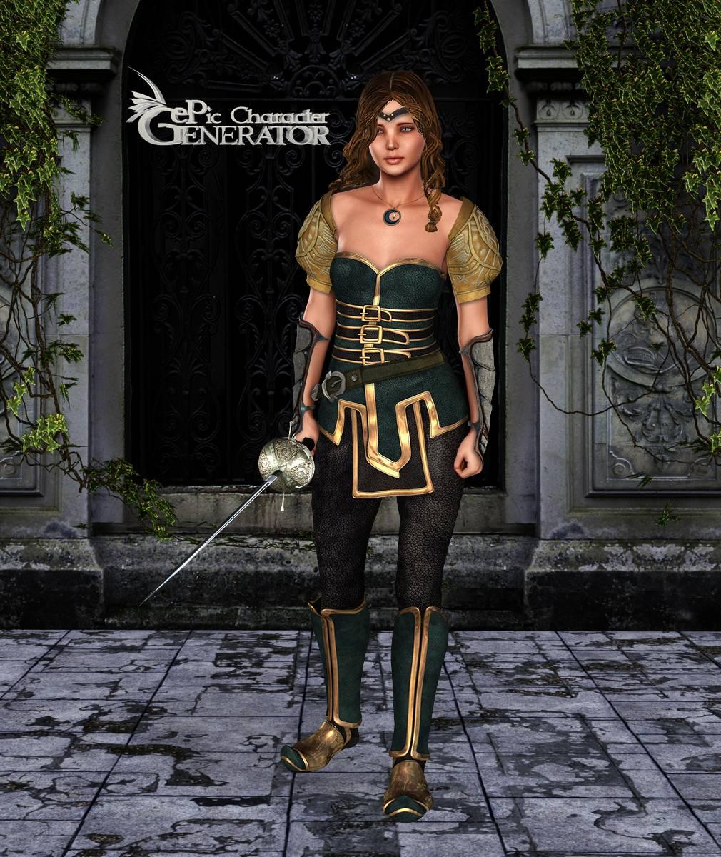 ePic Character Generator Season 2 Female Adventurer 2 Screenshot 06