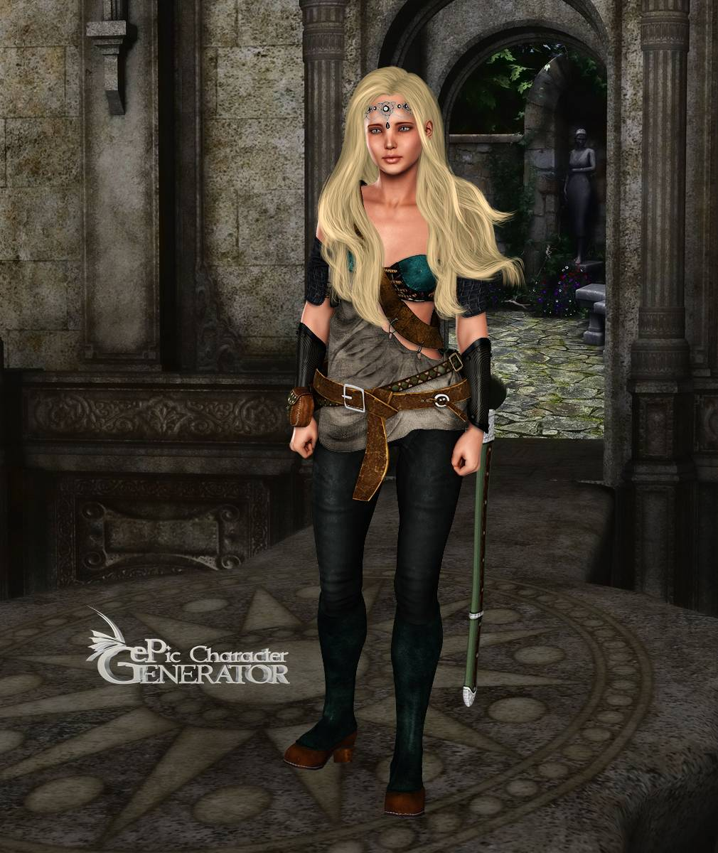 ePic Character Generator Season 2 Female Adventurer 2 Screenshot 07