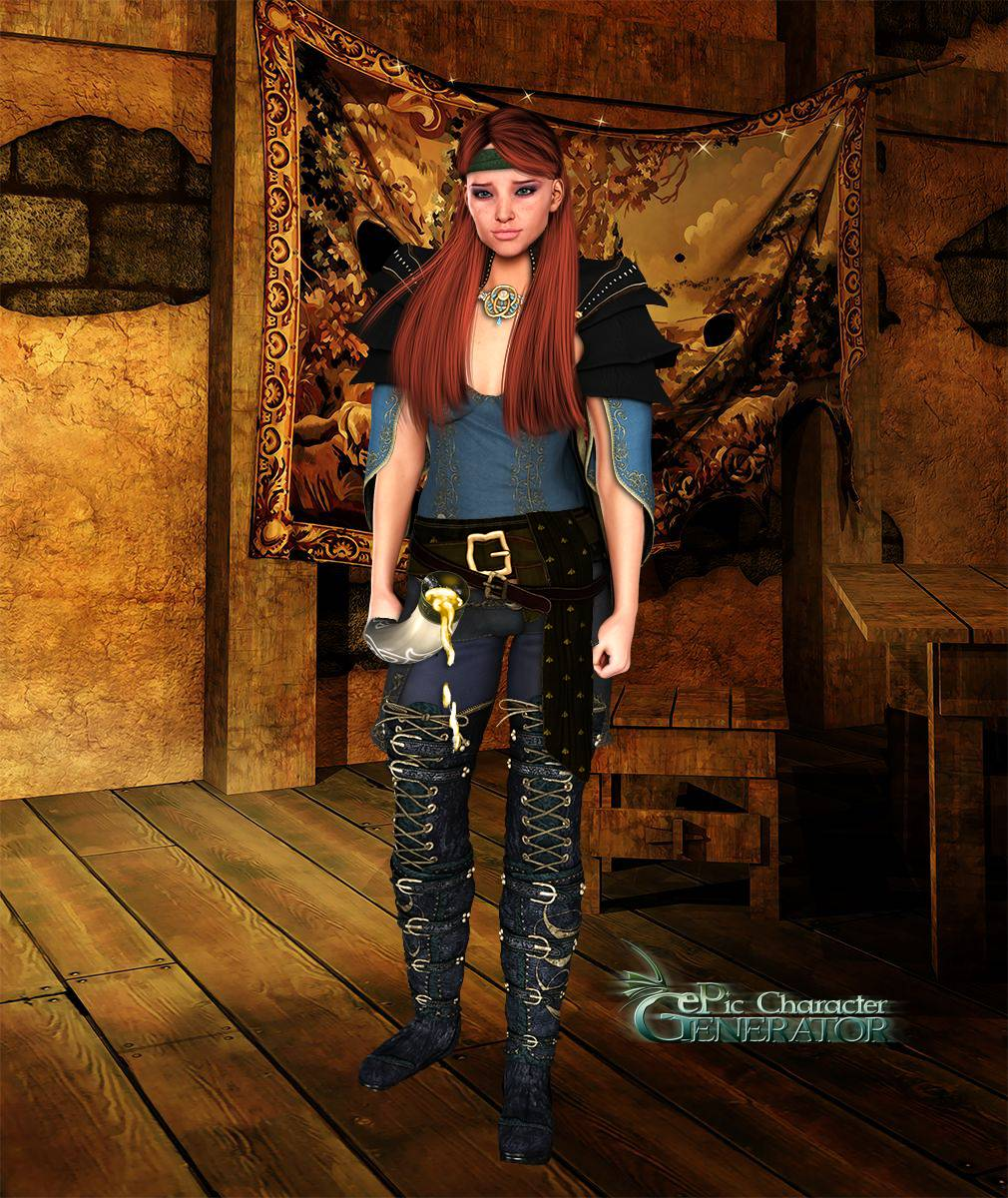ePic Character Generator Season 2 Female Adventurer 2 Screenshot 08
