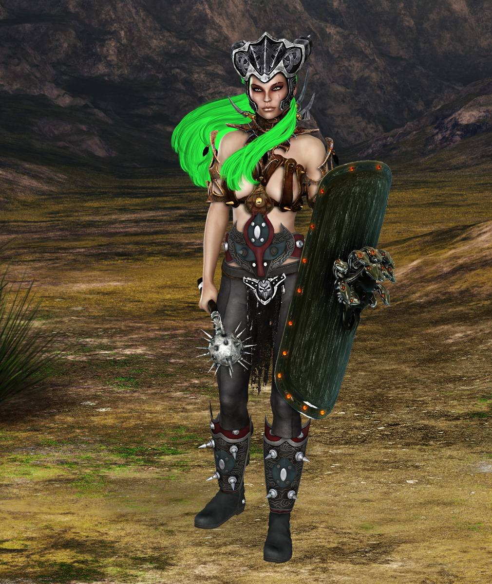ePic Character Generator Season 2 Female Barbarian Screenshot 01
