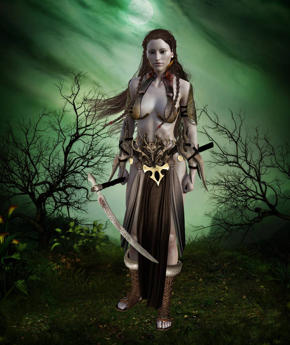 ePic Character Generator Season 2 Female Barbarian Screenshot 02