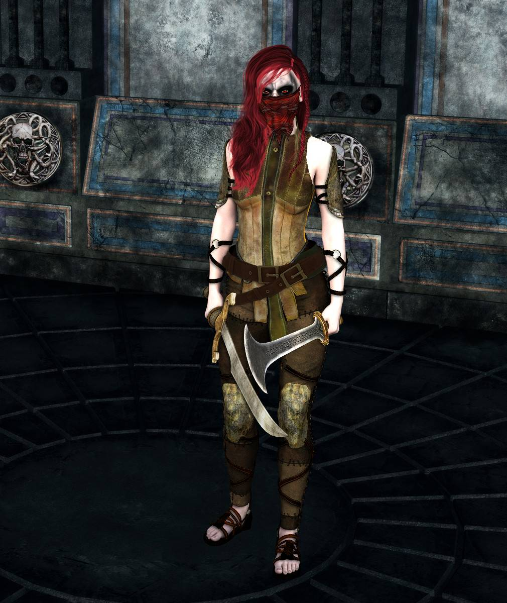ePic Character Generator Season 2 Female Barbarian Screenshot 03