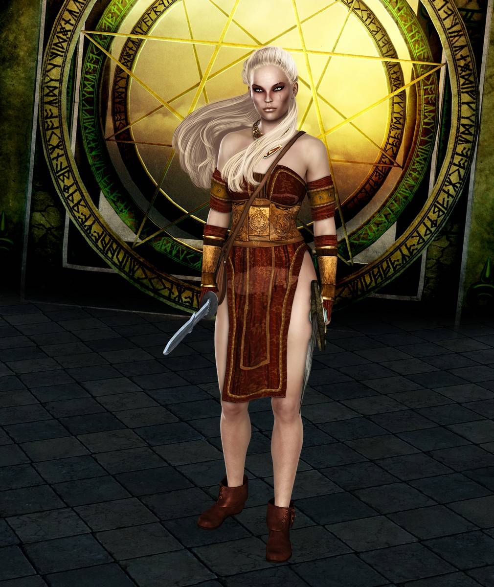 ePic Character Generator Season 2 Female Barbarian Screenshot 04