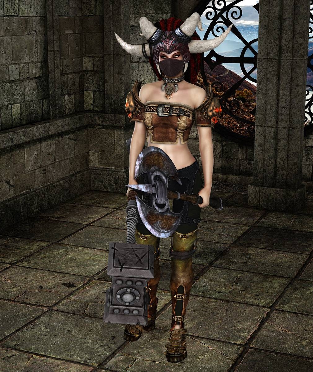ePic Character Generator Season 2 Female Barbarian Screenshot 07