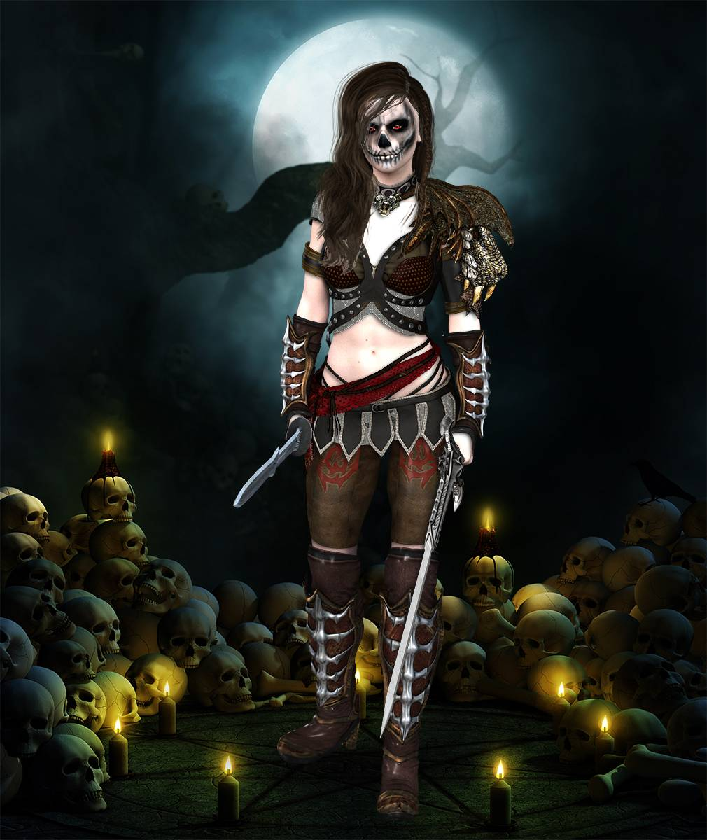 ePic Character Generator Season 2 Female Barbarian Screenshot 08