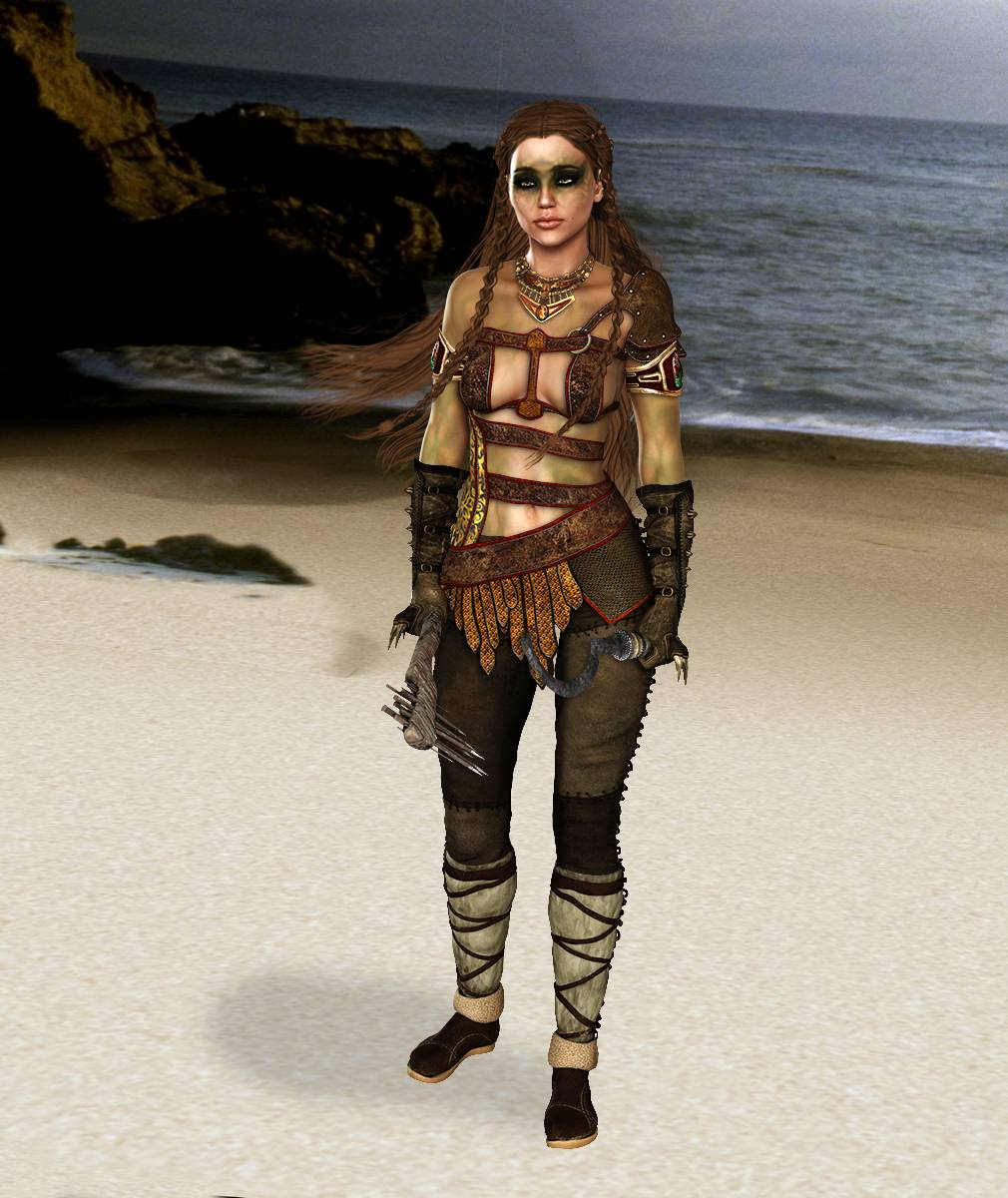 ePic Character Generator Season 2 Female Barbarian Screenshot 09