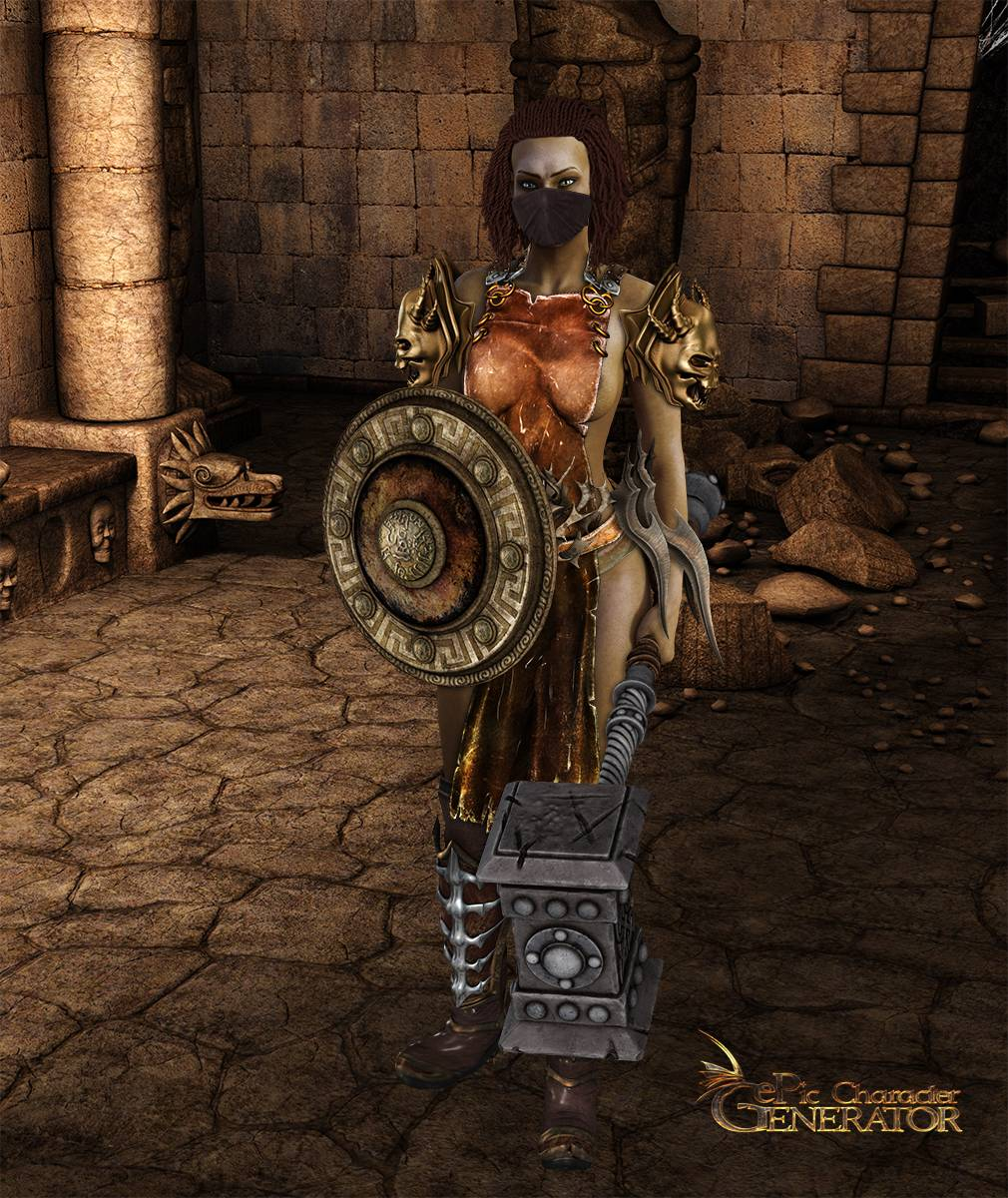 ePic Character Generator Season 2 Female Barbarian Screenshot 14