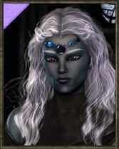 ePic Character Generator Season 2 Female Drow Spellcaster Icon