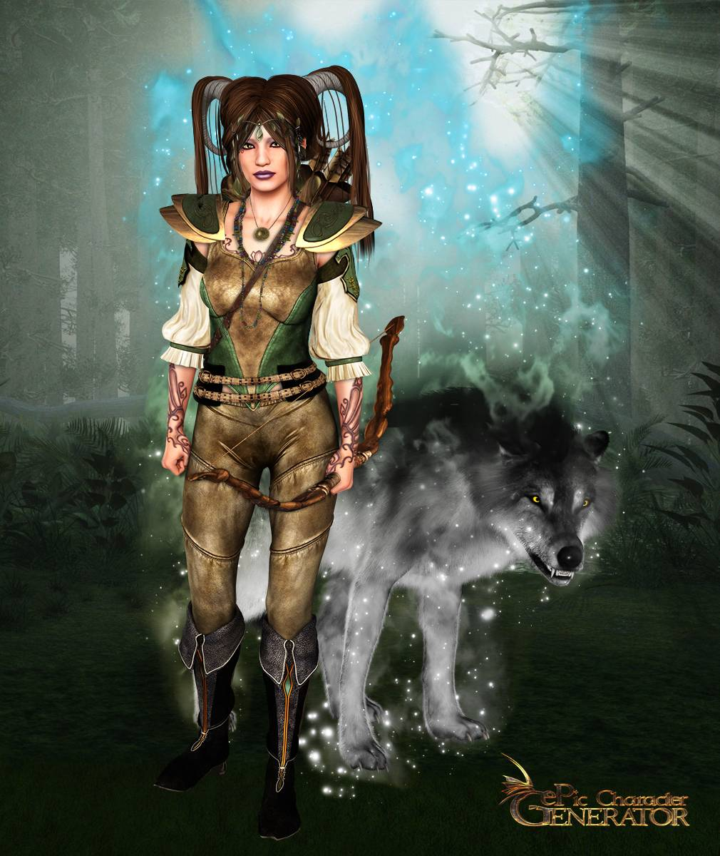 ePic Character Generator Season 2 Female Elf Screenshot 03