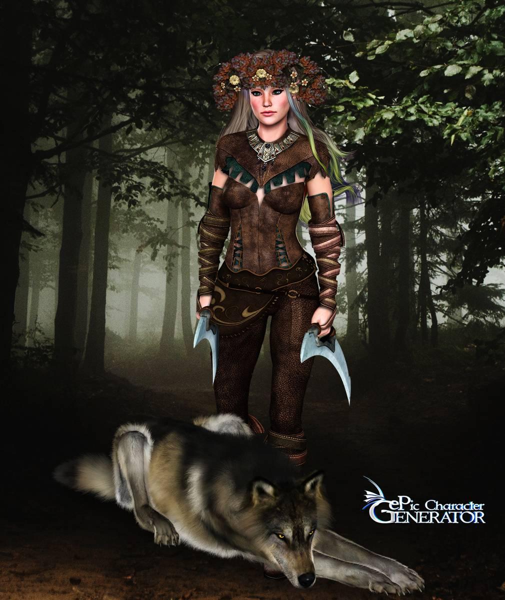 ePic Character Generator Season 2 Female Elf Screenshot 04