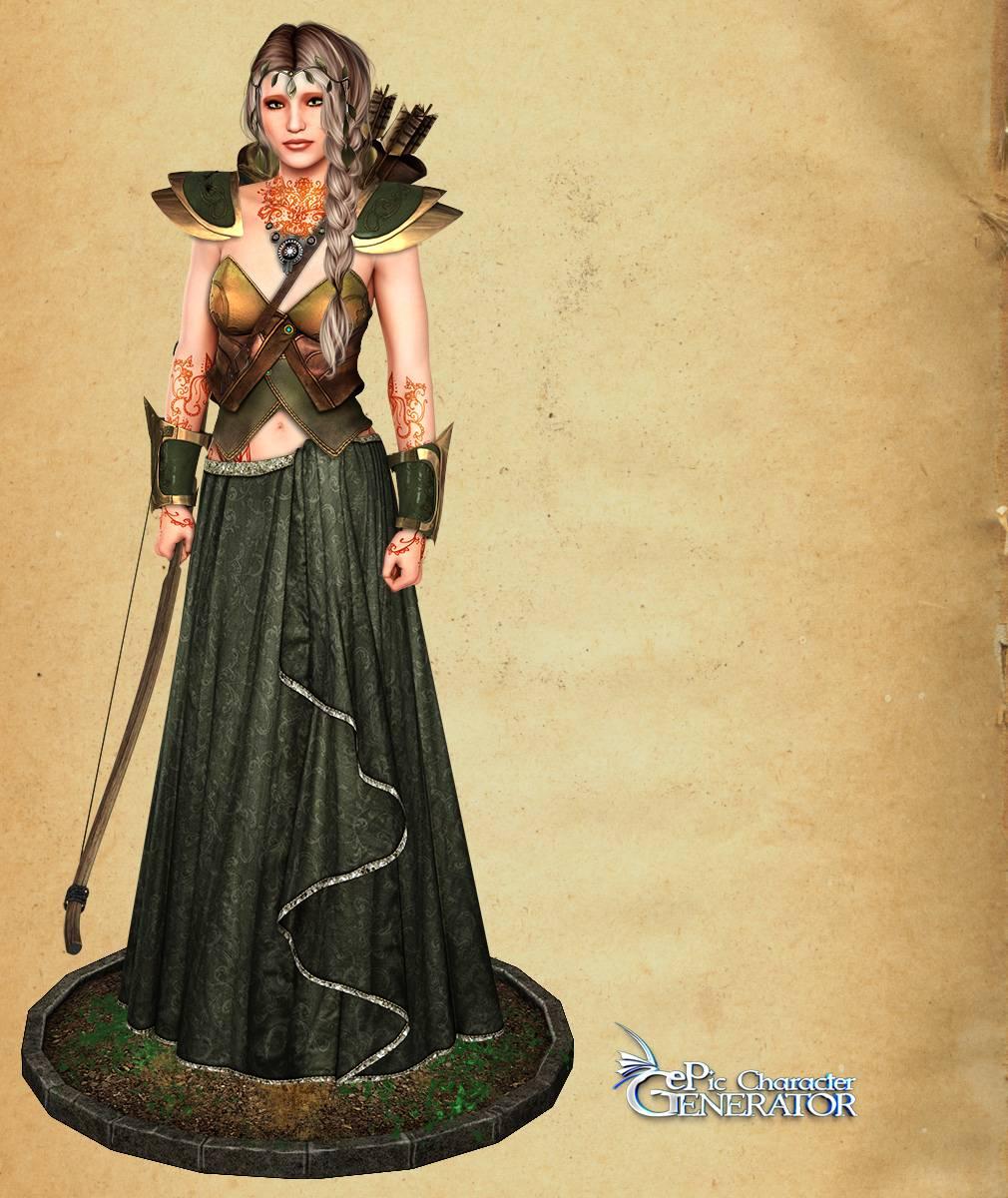 ePic Character Generator Season 2 Female Elf Screenshot 05