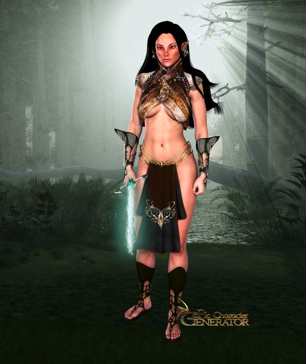 ePic Character Generator Season 2 Female Elf Screenshot 10