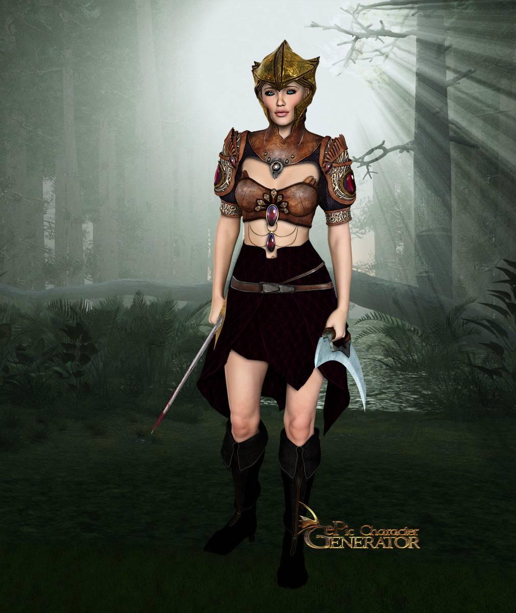 ePic Character Generator Season 2 Female Elf Screenshot 14