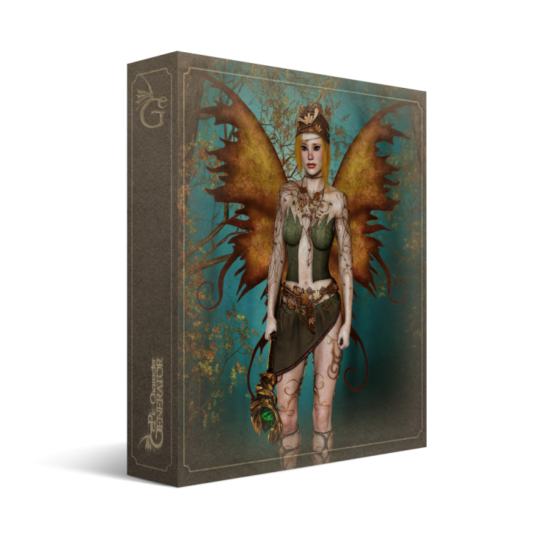 ePic Character Generator Season 2 Female Fae Box