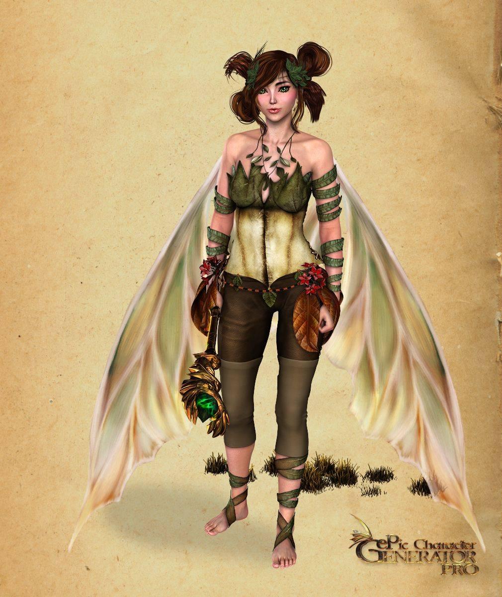 ePic Character Generator Season 2 Female Fae Folk Screenshot 01