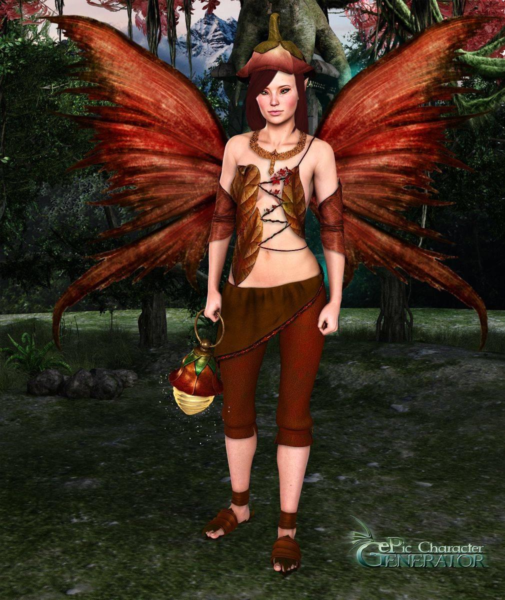 ePic Character Generator Season 2 Female Fae Folk Screenshot 02