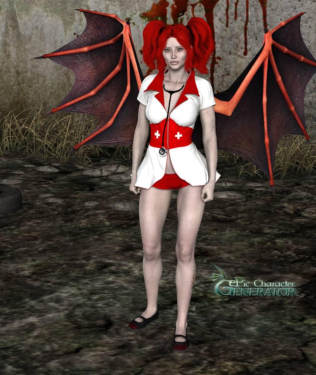 ePic Character Generator Season 2 Female Halloween Screenshot 03