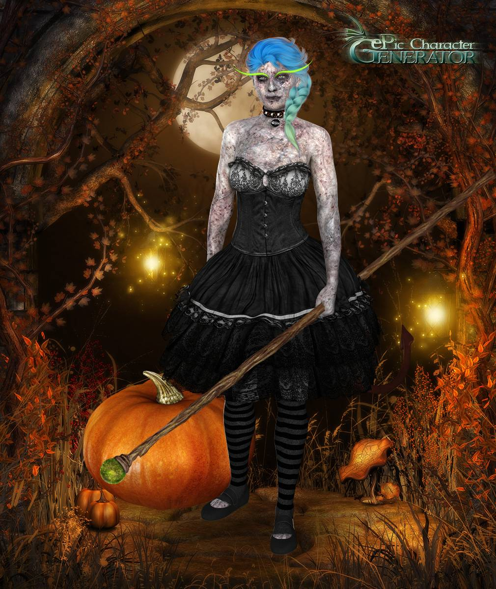 ePic Character Generator Season 2 Female Halloween Screenshot 04