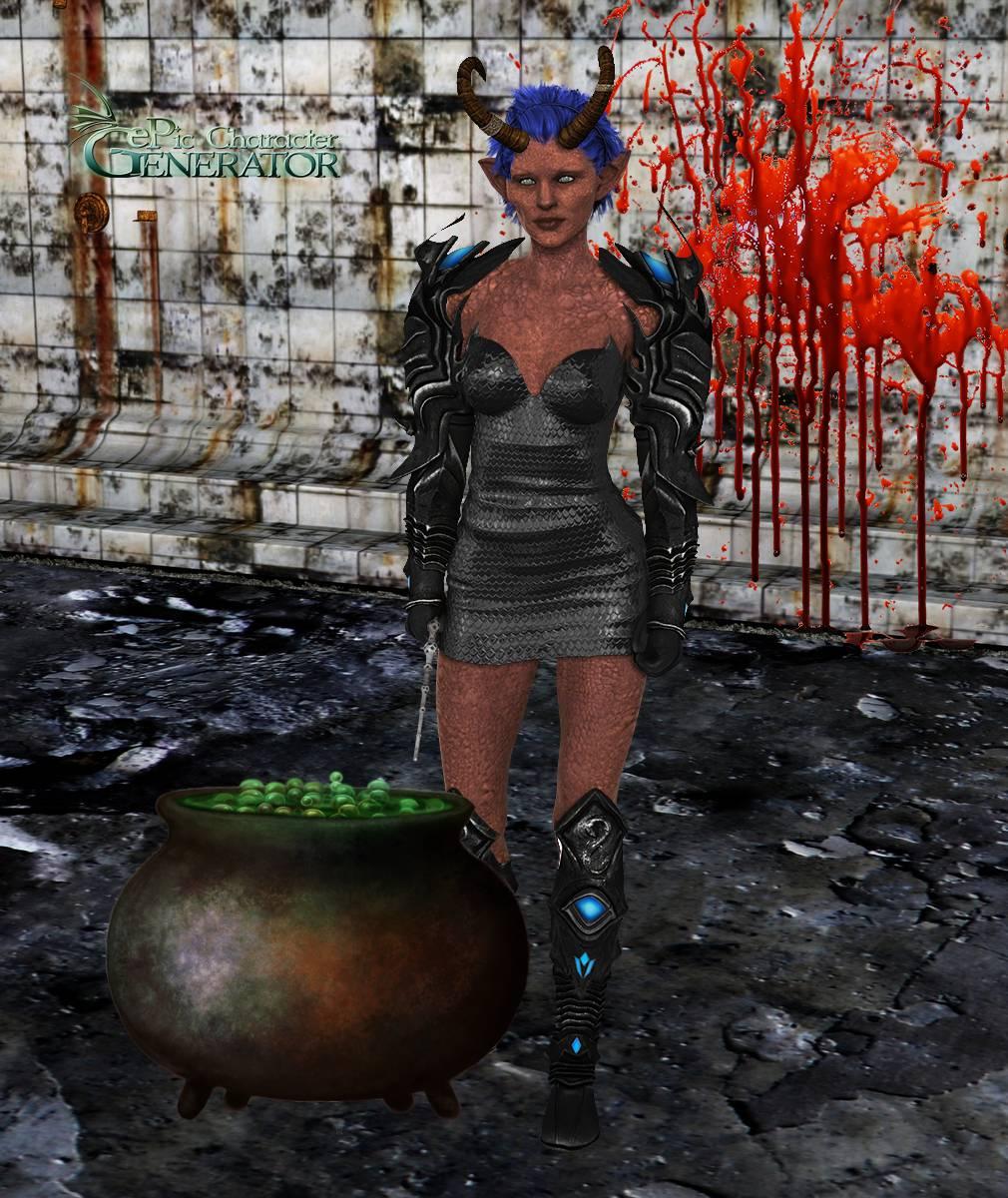 ePic Character Generator Season 2 Female Halloween Screenshot 07