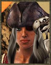 ePic Character Generator Season 2 Female Pirate Icon