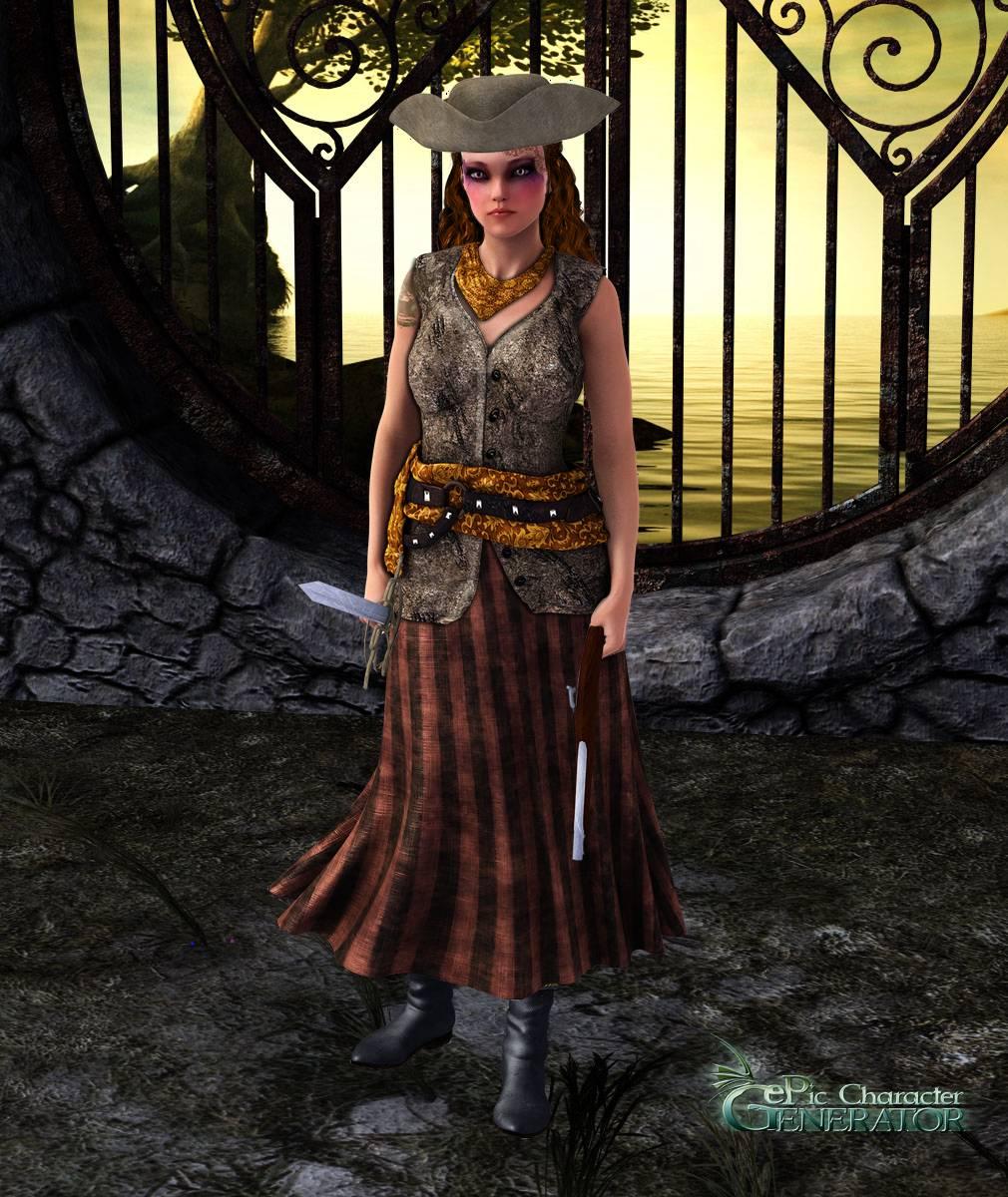 ePic Character Generator Season 2 Female Pirate Screenshot 01