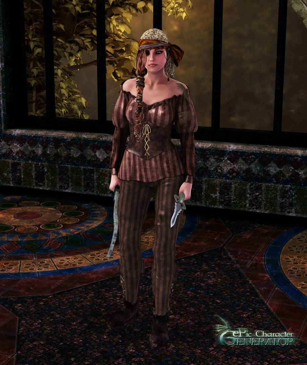 ePic Character Generator Season 2 Female Pirate Screenshot 02