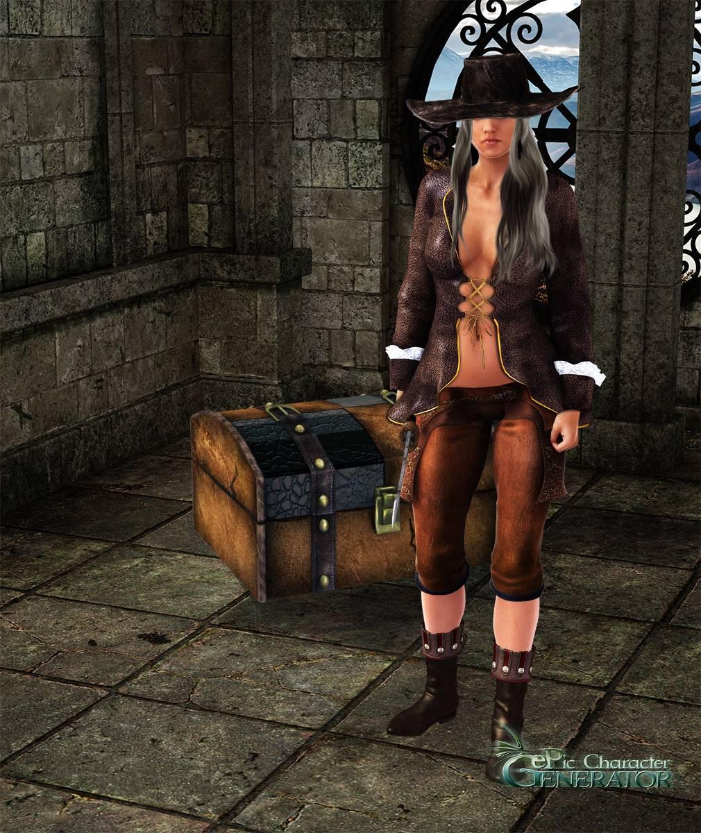 ePic Character Generator Season 2 Female Pirate Screenshot 03