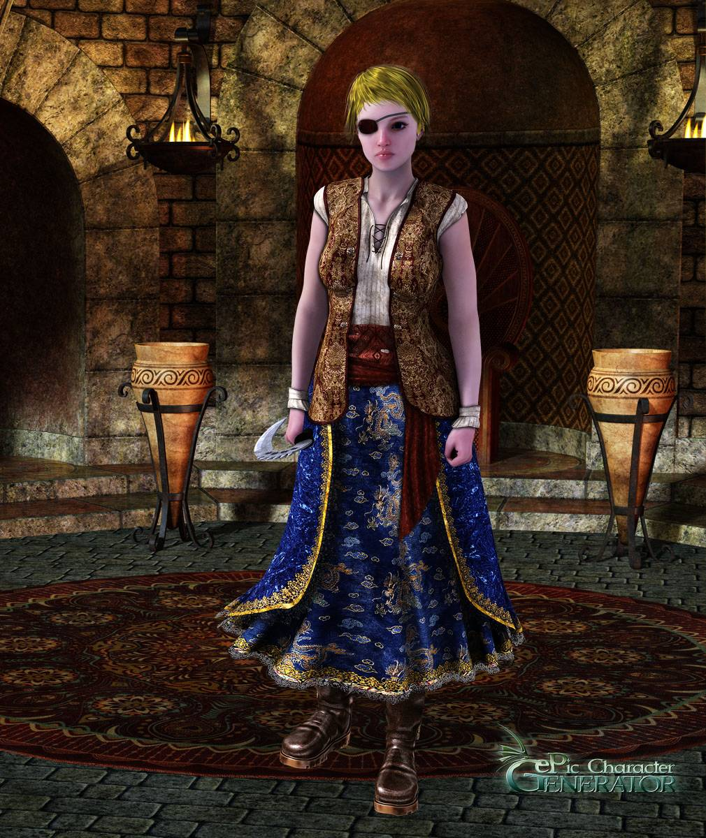 ePic Character Generator Season 2 Female Pirate Screenshot 05