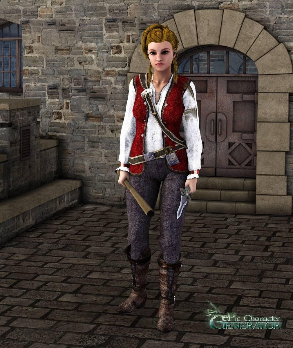 ePic Character Generator Season 2 Female Pirate Screenshot 06