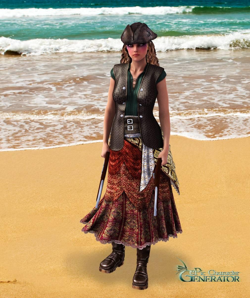 ePic Character Generator Season 2 Female Pirate Screenshot 11